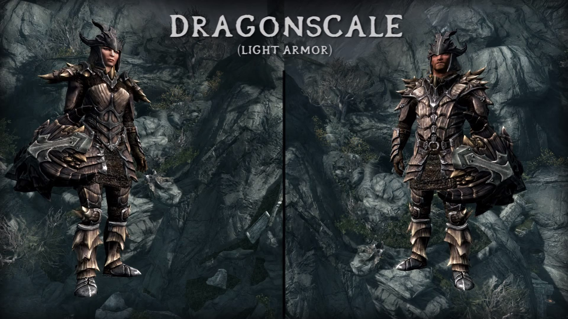 Skyrim Dragonscale Armor (Light Armor)